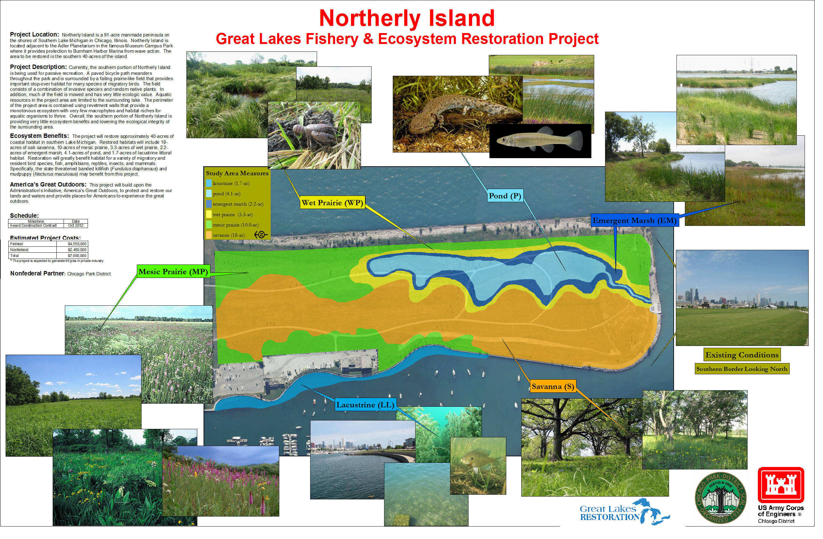 Northerly Island Schematic
