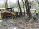 Debris removal within wetland communities